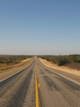"road to nowhere. ""the high plains drifter"" living up to her name"